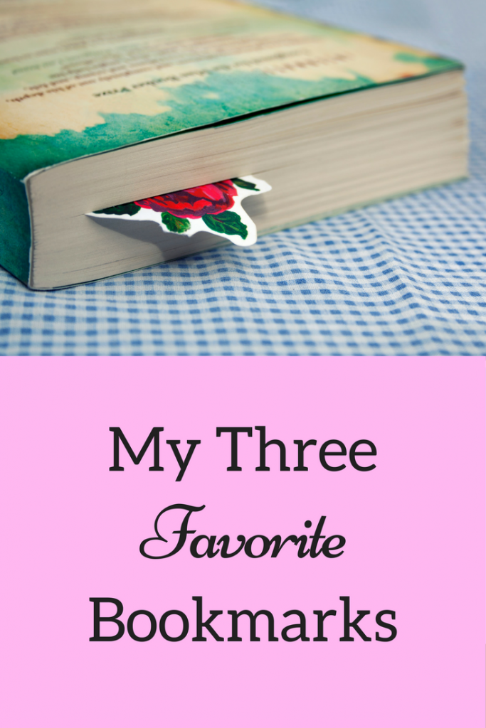 My Three Favorite Bookmarks